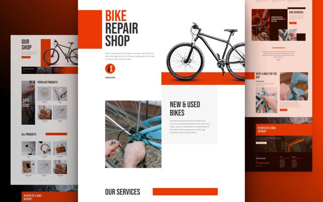 Bike Repair Layout pack